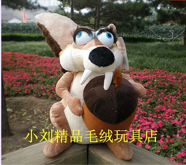 Фото big lovely squirrel plush doll simulation female squirrel toy dolls birthday gift about 55cm