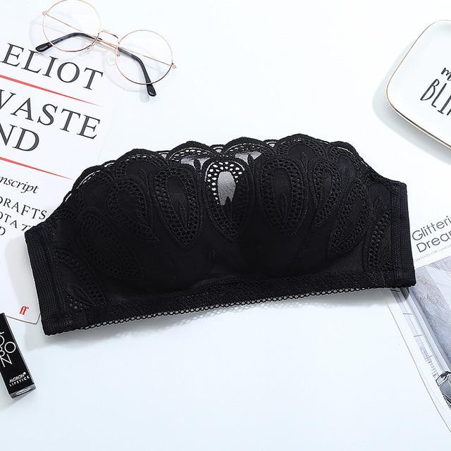 Floral Lace Bras For Women Push Up Bra Seamless Underwear Wireless Bralette Brassiere Sexy Lingerie Plus Size Bra