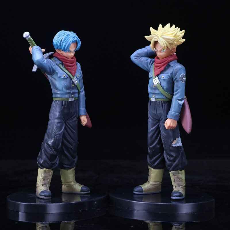 2017 Atacado Varejo Dragon Ball Z Super Saiyan Goku Son Goku Encaixotado PVC Action Figure Modelo Toy Presente Coleção