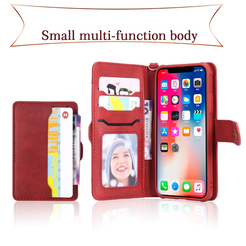 multi function phone case for iPhone 7 8 X Xr Xs Max