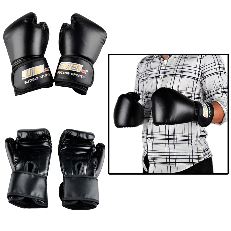 Boxing Gloves  Boxing Gloves: Hot Sale Brand PU leather sport training equipment Boxing Gloves Kick boxing MMA Training Fighting Sandbag Gloves Sanda mittens