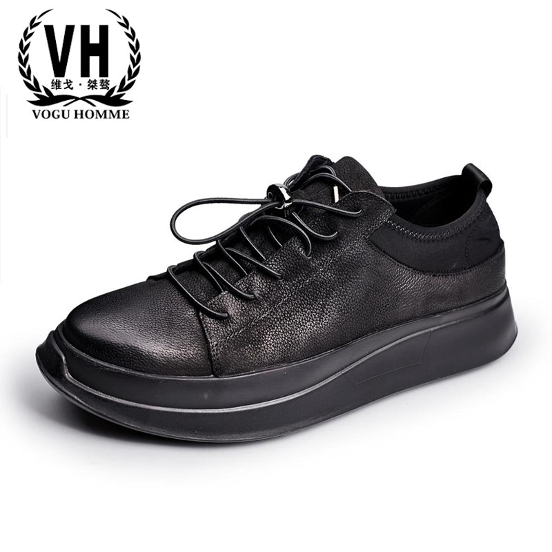 European Luxury shoes dirty male leather shoes new winter casual shoes Adidas all-match British tide