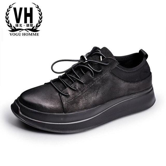 Lederen Mannelijke Nieuwe Europese Vuile Luxe Schoenen UzMVpGqS