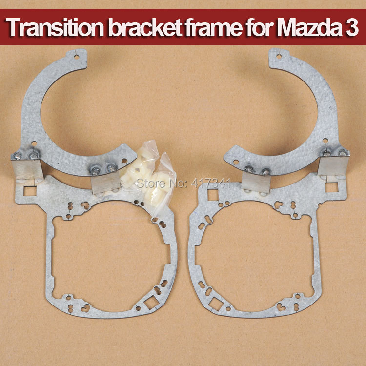 Easy Install Projector Bracket Holder for Mazda 3 Car to Replace with HID Bi-xenon Projector Lens Q5 Koito HL G3/G5 2 5 mini bi xenon projector lens can use with d2s d2h hid xenon bulb for h4 car headlamp easy install