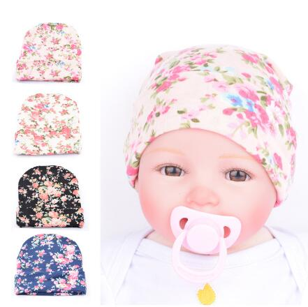 ON SALE 1PCS Baby Girl Toddler Infant Children Flower Hat Cotton Floral Hat Cap Newborn Hats Baby Beanies Cap Hospital Hat