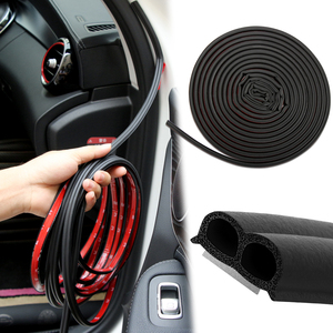 5M Rubber Car Door Seal Strip Sound Insulation For BMW E46 E90 F30 F10 Audi A3 A6 C5 C6 Opel Insignia Alfa Romeo 159 Ssangyong(China)