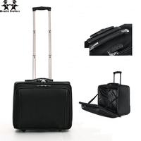 wenjie brother New Arrival hot Oxford Cloth Business Trolley Luggage Travel Suitcase Boarding For Men