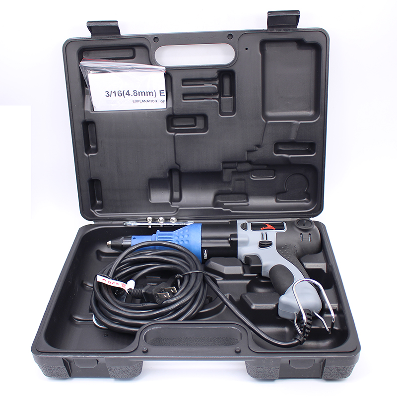 Herramienta de remachado de pistola de remache de energía eléctrica de 220V de alta calidad hecha en Taiwán Remachadora de 2.4-4.8 mm