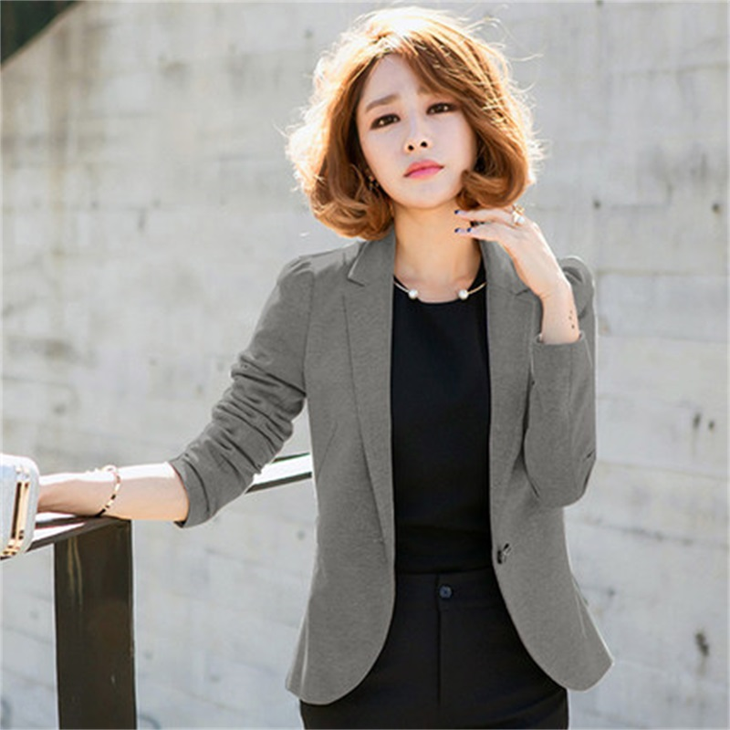 sleeved 2 Spring New Autumn Suit Size Slim Women 3 Large 1 Short Blazer Style Casual Paragraph Small Female Jacket Long UW0dUq