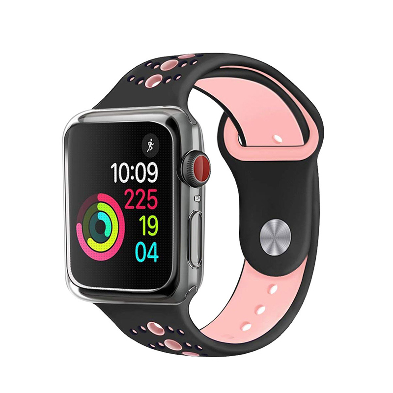 TPU soft Watch Case Cover For Apple Watch iWatch series 4 generation 40mm 44mm Ultra Slim Protector Silicon Case Transparent in Watchbands from Watches