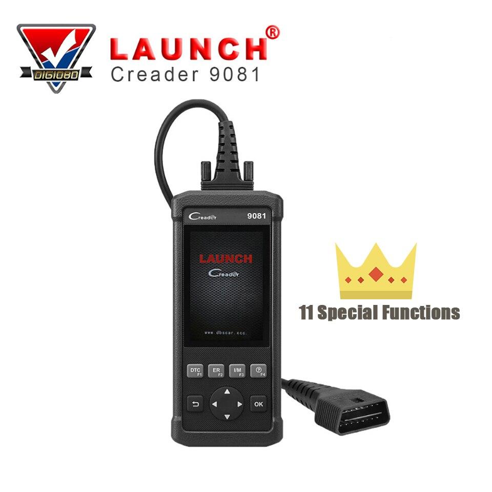 LAUNCH Creader 9081 CR9081 OBD2 Car Scanner Code Reader Auto Diagnostic Tool ABS Bleeding Oil Reset SAS TPMS DPF BMS EPB Reset все цены