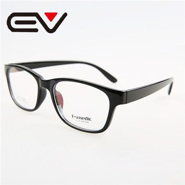 Mens Lightweight TR90 Large Full Frame Eyeglasses Womens Retro ...