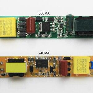 Image 5 - 9ワット14ワット18ワット25ワット30ワットledチューブドライバDC36 86V 240/380ma電源85ボルトの265ボルトlighiting変圧器0.6/0.9/1.2/1.5チューブライト