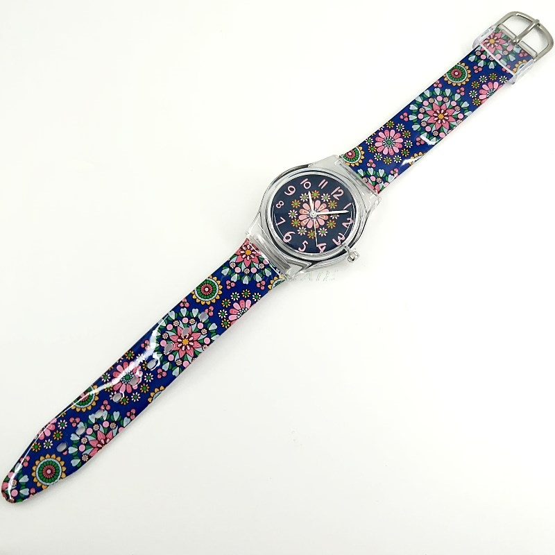 WILLIS merk vrouwen waterdicht quartz horloges retro bloemen - Dameshorloges - Foto 6