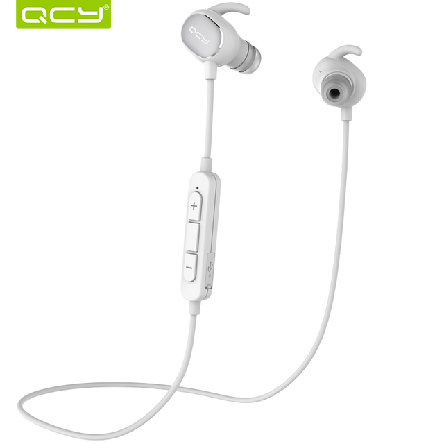 Original QCY QY19 Wireless Bluetooth Earphone IPX4 Sweatproof Sports Headset Stereo Earphone With MIC For IPhone Xiaomi Samsung