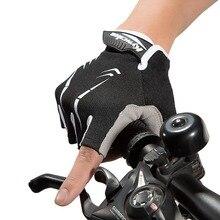 Half Finger Men Women Dirt Bike Gloves Sport Shockproof Motos Riding Racing Short Summer Glove