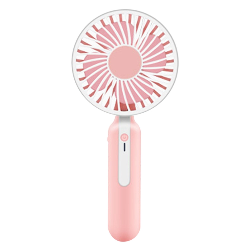 Portable Handheld Mini Fan With Rechargeable Built In Battery 1200Ma Usb Port Handy Mini Fan-in Fans from Consumer Electronics