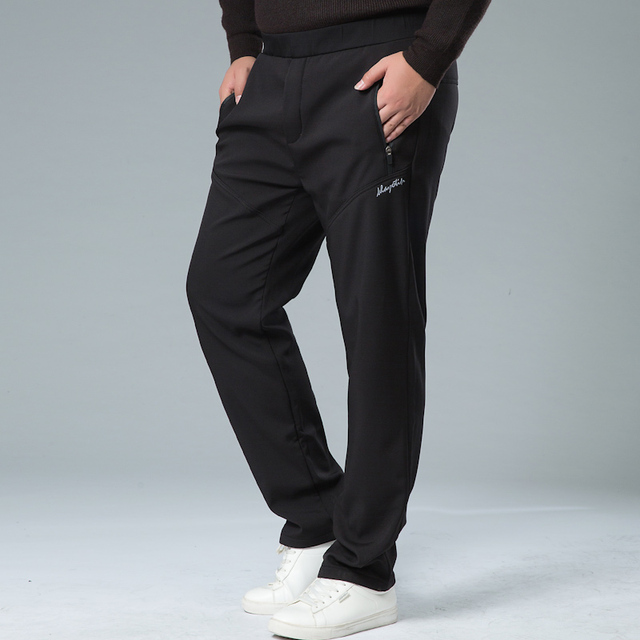 Mens Winter Pant Thick Warm Cargo Pants Casual Outwear Pockets Trousers Plus Size 8XL 7XL Fashion Loose Baggy Pant for Worker 2