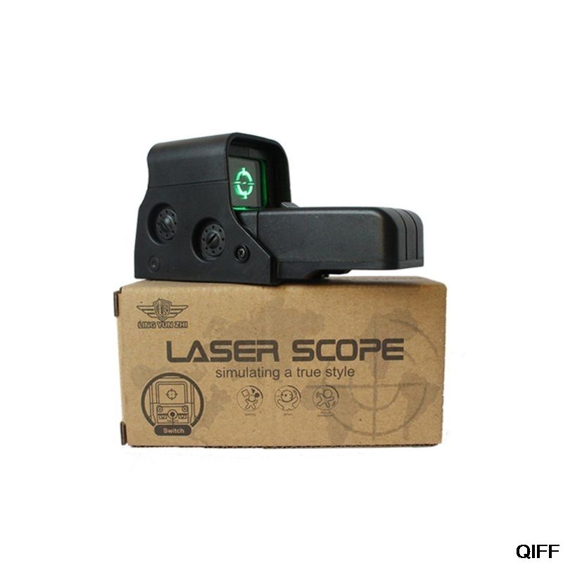 New Green Dot Water Gun Aim Point Sight For Nerf Series Blasters Jinming8 Accessories May06