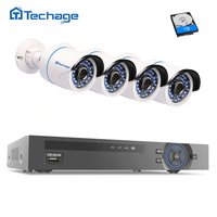 720P AHD Kit 1200tvl Cctv System 1080p HDMI 4CH AHD M DVR 1 0MP 720p AHD