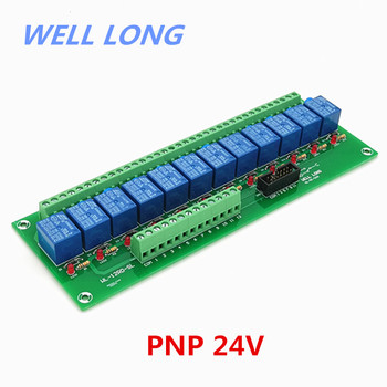 12 Channel PNP Type 24V 10A Power Relay Interface Module,SONGLE SRD-24VDC-SL-C Relay.