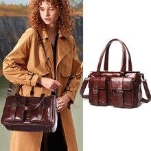 Cobbler Legend Tote Bags for Women 2019 Handbag Genuine Leather Hobo Bag Crossbody Shoulder Bag Designer Messenger Bag Bolsas недорго, оригинальная цена