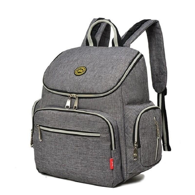 new baby diaper bag nappy backpack change pad stroller straps waterproof tote. Black Bedroom Furniture Sets. Home Design Ideas