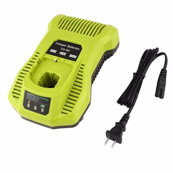Ryobi 12v Battery | 12V-18V Charger Replacement For Ryobi P117 Rechargeable Battery Pack Power Tool Battery Intelliport Technology(Us Plug)