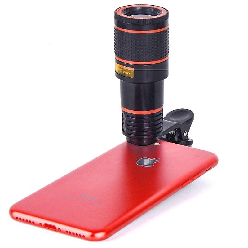 12x Optical Zoom Mobile Phone Telescope Lens Hd Telescope Camera Lens