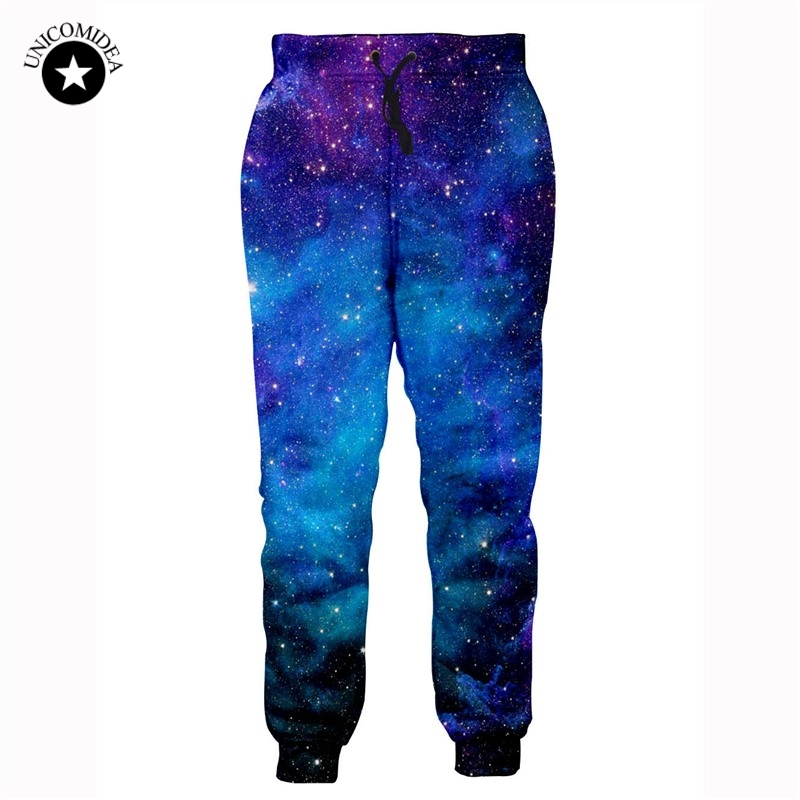 Fashion Hip Hop Joggers Pants Men Women Streetwear Long Pants Sweatpants 3d Galaxy Print Pantalon Hombre Track Pants Men Clothes