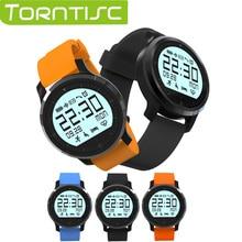 Torntisc f68 smart watch rastreador de fitness podómetro sleep monitor de ritmo cardíaco reloj de pulsera parámetro ip67 a prueba de agua