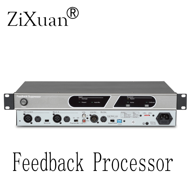 Microphone de conférence dédié suppresseur de rétroaction effet anti-hurlement processeur de décalage de fréquence numérique