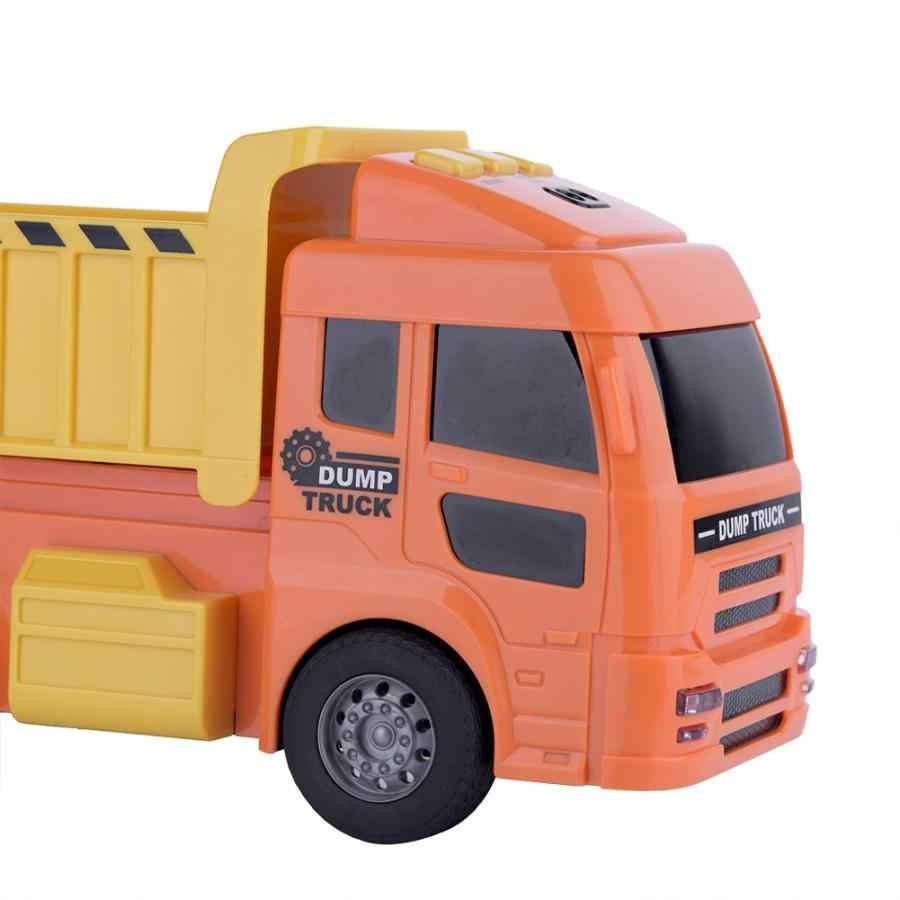 Eletric игрушечный мини-грузовик модель автомобиля игрушечный датчик грузовик раннего обучения дошкольного смешного игрушки подарок для детей