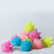 6 pcs EcoFriendly Reusable Dryer Ball Replace Laundry Washer Fabric Softener Wrinkle Releasing In Balls