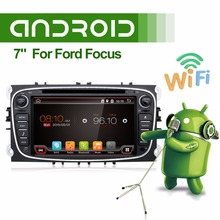 Capacitive Screen Android 7 1 Car DVD Navigation for Ford Mondeo S Max Focus II GPS