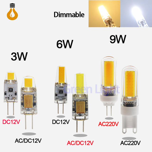 Низкая цена G4 G9 E14 светодиодный свет AC/DC 12 В AC220V 3 Вт 6 Вт 9 Вт высокое качество светодиодный лампа люстра лампы заменить галоген светодиодный свет