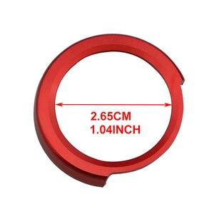 Автомобильный двигатель старт зажигания кольцо для ключей крышки наклейки для BMW X1 F48 F20 F21 F30 F32 F33 F34 F36 F45 F46 1 2 3 4 серии аксессуары