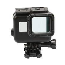 цена на Diving Waterproof Case Underwater Housing Case Mount Camera Accessories for GoPro Hero 6/5 Black Action