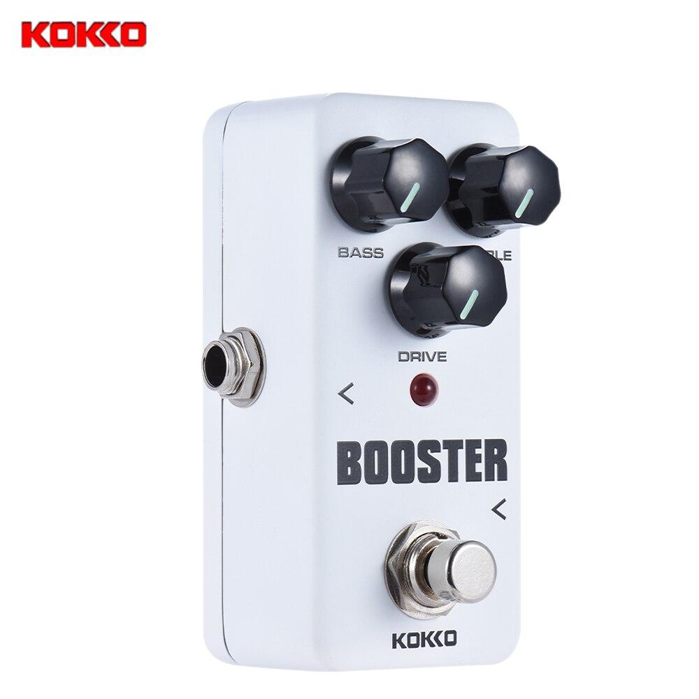 buy kokko fbs2 mini booster pedal portable 2 band eq guitar effect pedal high. Black Bedroom Furniture Sets. Home Design Ideas