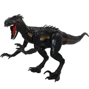 "Image 1 - 15 ס""מ indoraptor פרק יורה העולם 2 דינוזאורים משותף מטלטלין פעולה איור צעצועים קלאסיים ילד ילדי חג המולד מתנה"