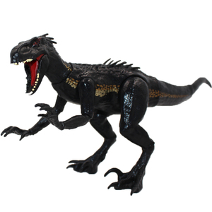 Image 1 - 15cm indoraptor Jurassic park world 2 Dinosaurs Joint movable action figure Classic Toys For Boy Children xmas gift
