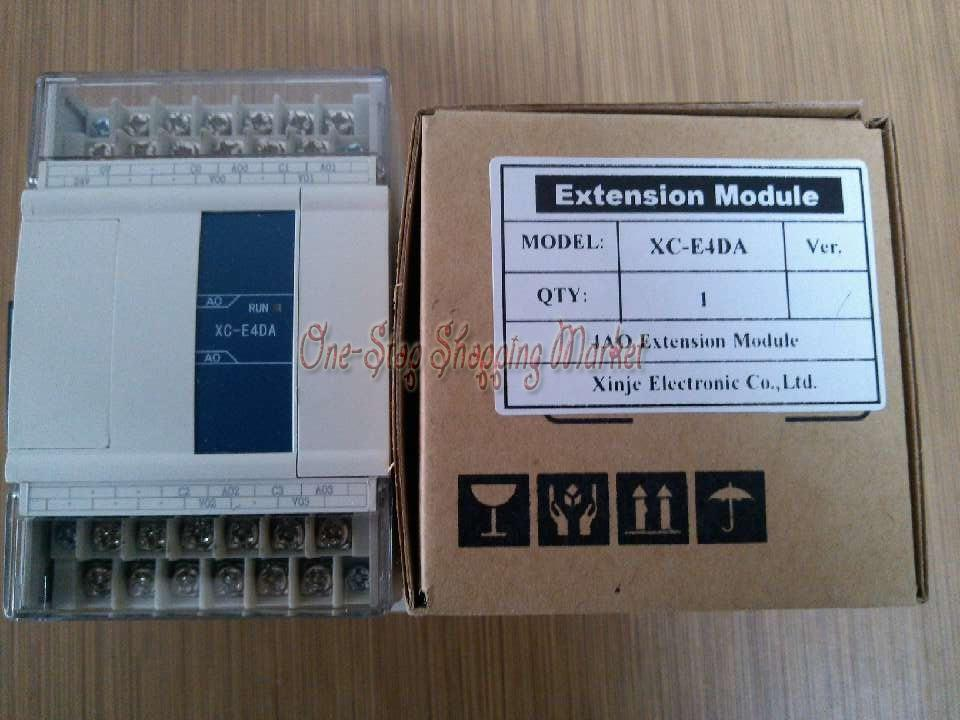 XC-E4AD2DA-H New Original 14Bit 4 AI 12Bit 2AO plc expansion modules
