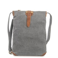 M052 Brand Bolsa Crazy Horse Leather Handbag Hobos Ladies Canvas Bag Women Men's Travel Bag Messenger Bags Casual Shoulder Bag