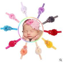 Baby Children Flower Pearl Infant Toddler Girl Headband Clips Hairband Hair Band Accessories Drop Shipping