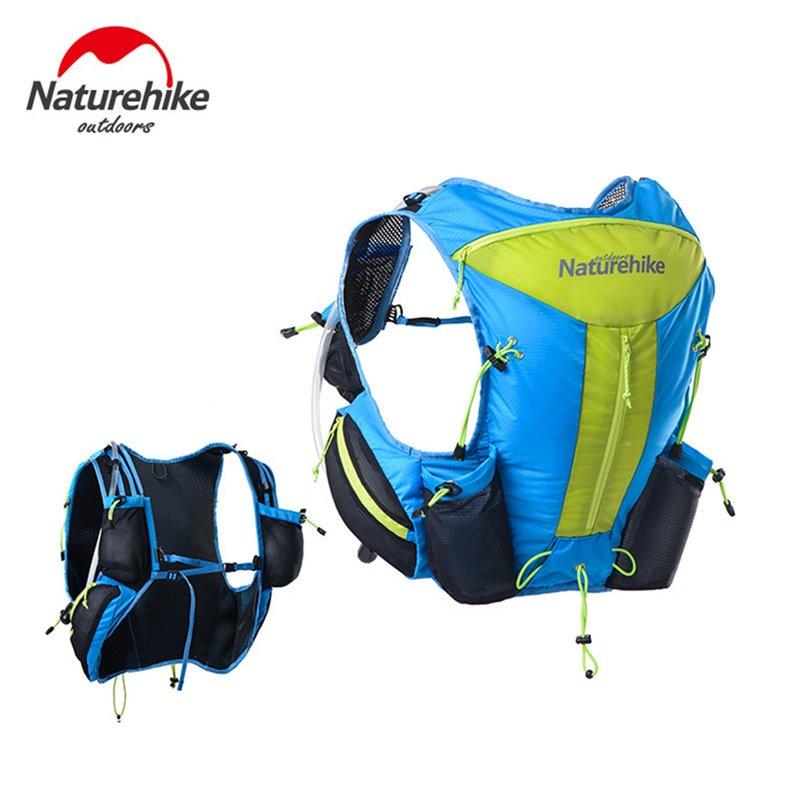 2019 Naturehike Lightweight Unisex Marathon Backpack Close Fitting Hiking Tactical Packs Professional Running Bag 12L