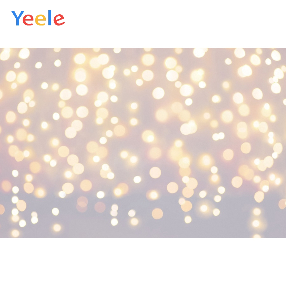 Yeele Wallpaper Photocall Lights Bokeh Glitters Photography Backdrops Personalized Photographic Backgrounds For Photo Studio