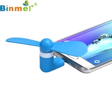 Binmer Mecall Flexible USB Mini Cooling Fan Cooler For Laptop Desktop PC Computer New