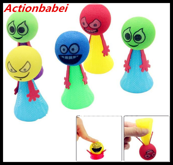 Gags & Practical Jokes Novelty & Gag Toys Trend Mark Actionbabei Creative Novelty Colorful Jump Doll Bounce Elf Fly Tricks Cute Cartoon Bouncing Elves Expression Dolls Children Gift