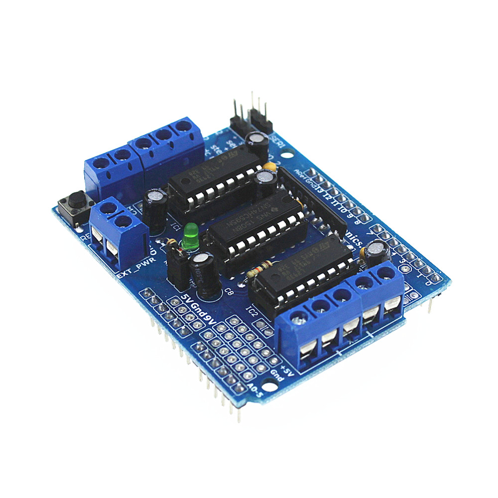 Inteligente Electrónica 1 unids Smart Car Paso A Paso DC Controladores de Motor