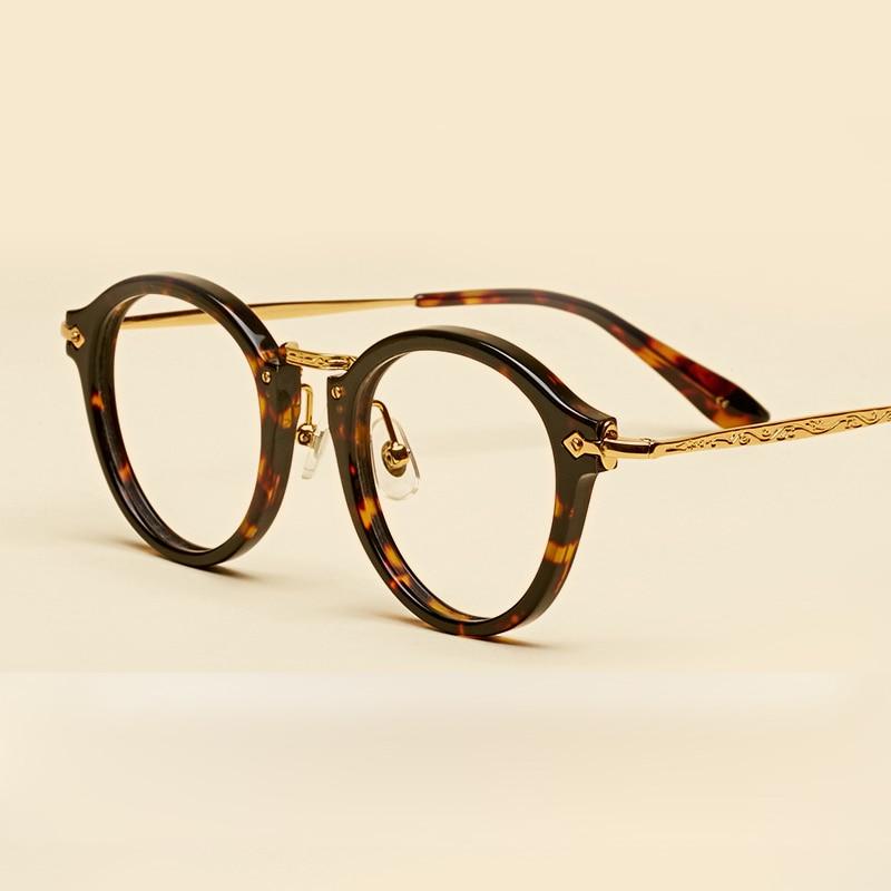 LIYUE Vroča prodaja Ovalna očala z jasnimi lečami Modni Retro - Oblačilni dodatki - Fotografija 4